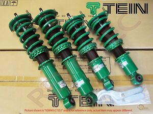 Tein Flex Z Coilovers 16 Ways Adjustable For 96 00 Honda Civic Ek Ej Em Jdm