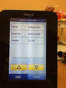 Abaxis Vetscan Vs2 Analyzer Great Condition