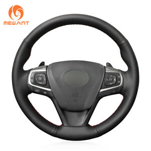 Genuine Leather Steering Wheel Cover For Toyota Camry 2015 2017 Avalon 0483
