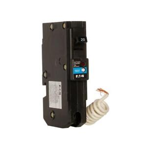 Eaton Dual Purpose Af gf 20 Amp Single Pole Circuit Breaker