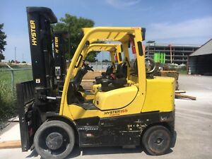 2012 Hyster 15 500 Lbs Forklift Warehouse Type Forklift S155ft