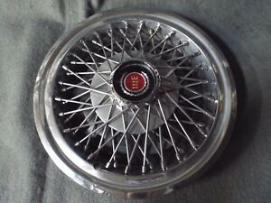 14 Wire Wheel Cover Hub Cap 1977 1979 1980 1981 Ford Mustang Fairmont Ranchero C