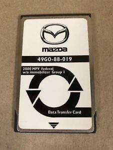 Mazda Special Tools Ngs Scan Tool Data Transfer Card 49go 88 019 49g0 88 019