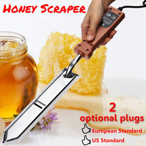 Electric Uncapping Extractor Knife Bee Hive Honey Scraper Us Plug Us