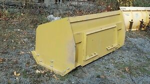 Skidsteer Skid Steer Snow Plow Pusher 8