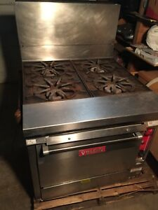 Vulcan 4 Burner Natural Gas Stove