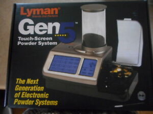 Lyman 1200 DPS Gen 5 Digital Powder System (LY7750600) EUC