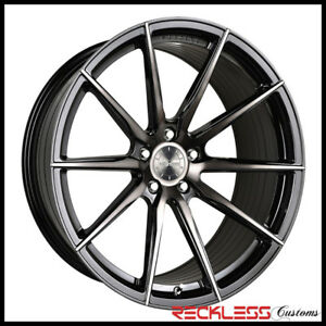 20 Vertini Rfs1 1 Concave Ddt Wheels Rims Fits W205 Benz C300 C350