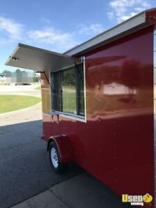 New 2019 6 X 12 Sno pro Shaved Ice Concession Trailer For Sale In Alabama