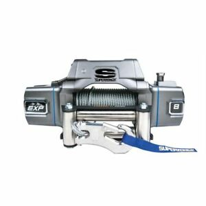 Superwinch S102733 Exp8i Winch 8k Lbs 12v 100 Ft Cable 15 Ft Hand held Remote