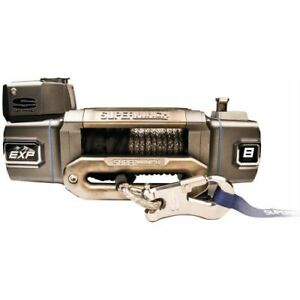 Superwinch S102744 Exp 12s Winch 12 000 Lbs 12v 100 Ft Synthetic Rope