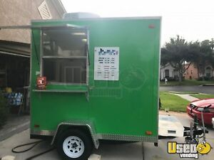 2016 6 X 8 Shaved Ice Concession Trailer For Sale In Florida