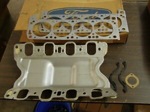 Nos Oem Ford 1970 1971 1972 351c 4v Engine Gasket Kit Torino Mustang Cyclone Cj