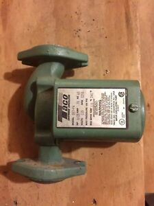 Used Taco 007 f4 Cast Iron Circulator Pump 120 Volt 1 25 Hp 007