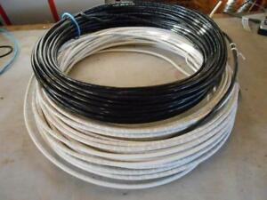 8 Awg Stranded Thhn Copper Wire 100 Black 112 White