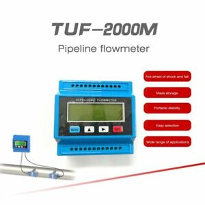 Tuf 2000m Tm 1 Digital Ultrasonic Flowmeter Flow Heat Meter Ultrasinic Module Ds
