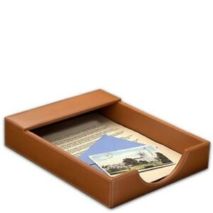 Levenger Morgan Letter Tray Tan ad6805 Tn