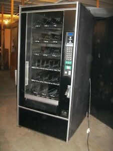 National 474 Snack Food Candy Vending Machine 4 wide Sale