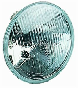 Hella 002395031 Hella Vision Plus 165mm Conversion Headlamp Round Clear Lens