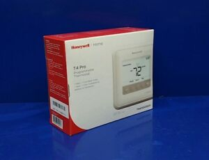 Honeywell Th4110u2005 T4 Pro Programmable Thermostat 1h 1c Cool White Backlight