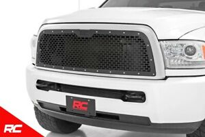 Rough Country Custom Black Mesh Grille Fit 2013 2019 Dodge Ram 2500 3500 70150
