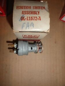 Nos 1950 51 Mercury 1951 52 Ford Truck 1953 55 Parcel Delivery Ignition Switch