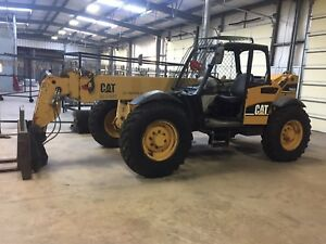 Reach Lift Caterpillar Th360b Telescopic Forklift Telehandler