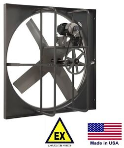 Exhaust Panel Fan Explosion Proof 30 115 230v 1 Phase 10 668 Cfm