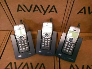 Lot Of 3 Cisco Cp 7920 7920 Wireless Ip Phone With Charger Battery