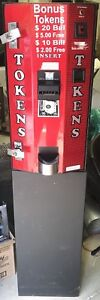 Ac2003 American Changer Red 5600 Change Machine Arcade Coin Laundry Laundromat