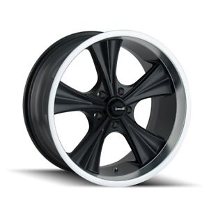 Cpp Ridler 651 Wheels 18x9 5 Fits Chevy Impala Chevelle Ss