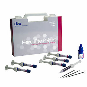 Kerr Herculite Precis Composite Restorative Kit 5 Syringes 1 Optibond S 2 Gel fs