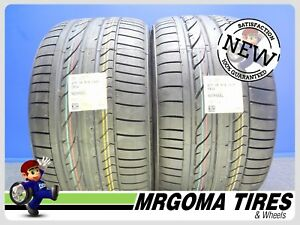 2 New 275 35 18 Bridgestone Potenza Re050a Rft Tires Bmw Mercedes 95y 2753518