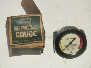 Vintage Marshalltown Hoffman Temperature Gauge New Old Stock Box Car Truck
