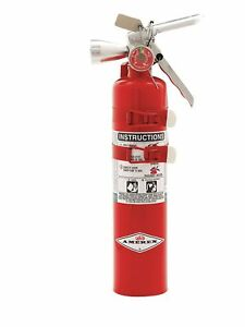 Amerex Halotron Fire Extinguisher With 2 5 Lb Capacity And 9 Sec Discharge
