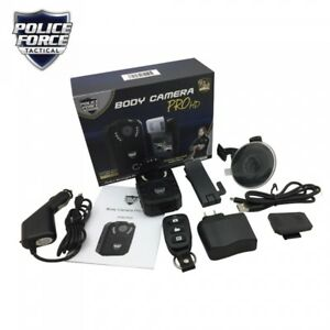 Police Force Tactical Body Camera Pro Hd Capture Evidence Protect Your Integrity
