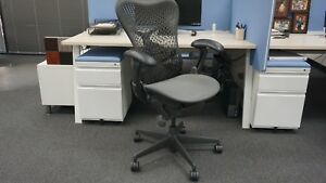 Used Herman Miller Mirra Office Chair lot Bundle Of 4 excellent Condition