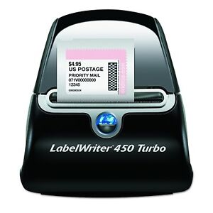 Dymo Labelwriter 450 Turbo Thermal Label Printer Same Day Fast Free Shipping