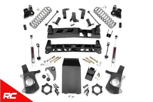 Rough Country 6 Lift Kit Fits 2000 2006 Chevy Tahoe Gmc Yukon 28020