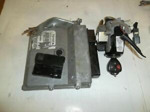 Engine Computer Ecu Brain Box W key And Immobilizer Toyota Corolla 2010 2009