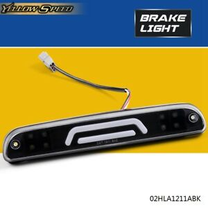 Led 3rd Third Brake Cargo Light For 99 2016 Ford Super Duty F 250 F 350 Black