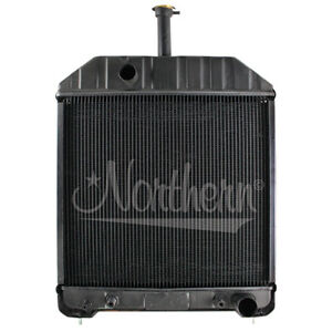 Northern 219866 Ford nh 555 555c 555d 575d 655c 655d 675d Radiator E7nn8005ca