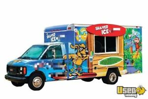 Turnkey Concession Business With Gmc Shaved Ice Truck For Sale In Texas