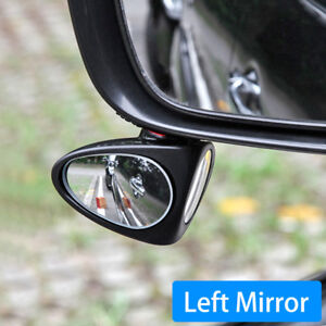 Car Vehicle Adjustable Left Rear View Blind Watch Wheel Sight Mirror Accessories
