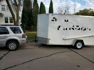 2015 6 X 12 Food Concession Trailer For Sale In Wisconsin