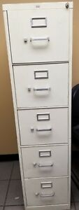 Lot Of 12 5 Drawer Metal File Cabinet Local Pickup Only 500 Or Best Offer