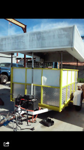 2012 6 X 9 Ice Cream Concession Trailer For Sale In California