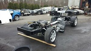 1999 Corvette C5 Rolling Drivetrain Chassis With Ls1 Engine Auto 73k