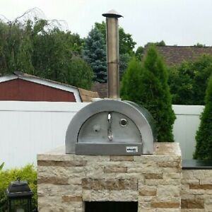 Ilfornino F Series Mini Basic Stainless Steel Wood Fired Pizza Oven