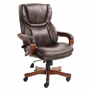 Serta Big And Tall Executive Office Chair In Biscuit
